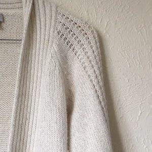 Caslon very warm rabbit hair/lamb wool cardigan